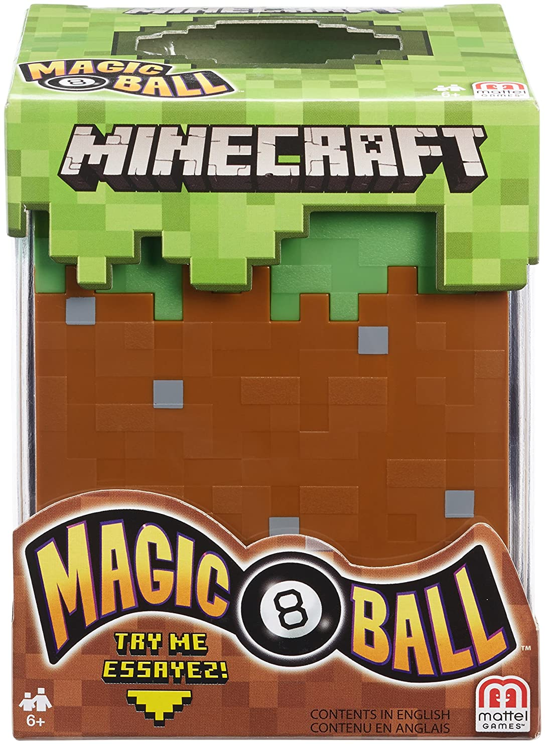 Mattel Games Minecraft Magic 8 Ball tnydhbnrivd80