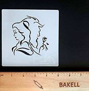 Best beauty and the beast cake stencil Reviews