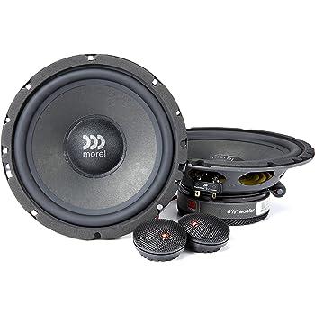 """Morel Maximus 602 6-1/2"""" Component car Speaker System"""