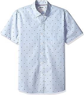 Goodthreads Standard-fit Short-Sleeve Dobby Shirt Hombre