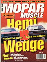 Mopar Muscle December 1998 Magazine 12-SEC. STOCK SHOOTOUT! HEMI vs WEDGE: PROVEN GO FAST SECRETS BUILD IT YOURSELF SPECS Blown 360 Bolt-On 312 HP CHRYSLERS AT CARLISLE