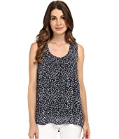 NYDJ - Printed Crinkled Gauze Tank Top
