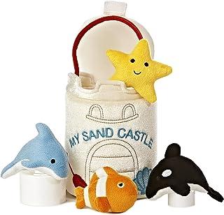 """Aurora World Baby Talk My Sand Castle Carrier Plush, 8"""""""