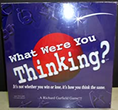 What were you Thinking? Its not whether you win or lose, it's how you think the same.
