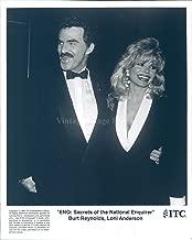 Vintage Photos 1994 Press Photo Burt Reynolds Loni Anderson ENQ Secrets National Enquirer 8X10