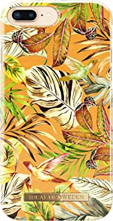 iDeal Of Sweden Fashion Case for iPhone 6S Plus / 7 Plus / 8 Plus (Microfiber Lining, Qi Wireless Charging Compatible) (Mango Jungle)