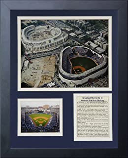 Legends Never Die Yankee Stadium Old and New Construction Framed Photo Collage, 11x14-Inch