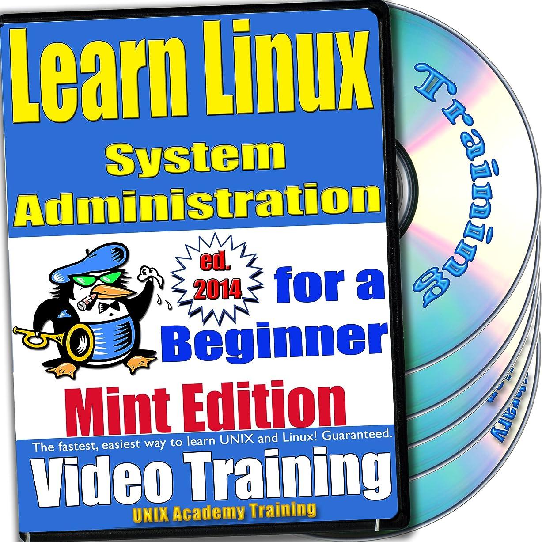 知事彼自身恩赦Linuxのシステム管理。初級ビデオトレーニングおよび認定試験、英語でMintのバージョン。 4 -DVDセット