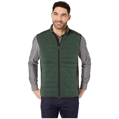 Vineyard Vines Performance Sweater Fleece Vest (Charleston Green) Men