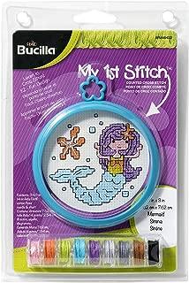 Bucilla WM46433 Mermaid Cross Stitch Kit