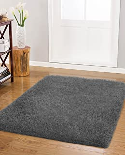 Vista Living Claudia Shag Area Rug 30 in. x 48 in., Charcoal
