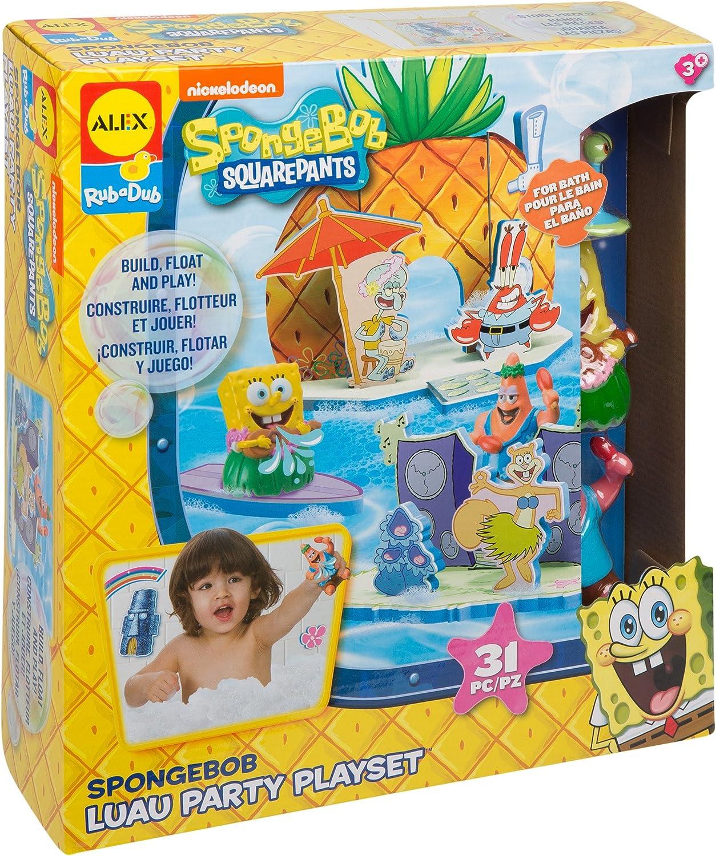 Alex Spongebob Luau Party Play Set Badespielzeug B013FAD3OQ | Trendy