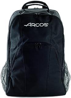 ARCPJ 694 Mochila Porta-Cuchillos, Acero Inoxidable, Negro, 330x480x185 mm