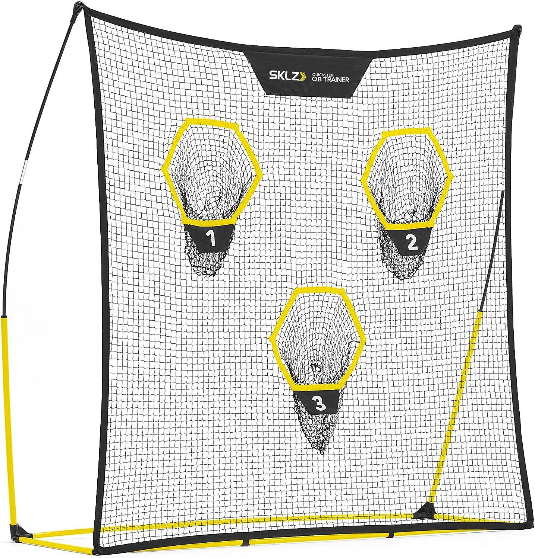 SKLZ Quickster QB Football Trainer Net w Target. UltraPortable, Quick Setup. 7  x 7 .