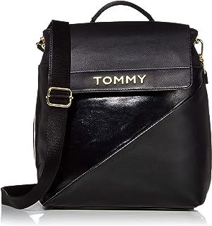 Tommy Hilfiger Cassie Flap Backpack, Black