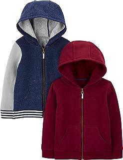 Boys' 2-Pack Full-Zip Fleece Hoodies