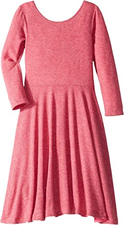 Knit Ballerina Skater Dress (Big Kids)