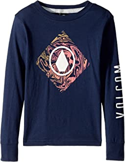 Volcom Kids - Resin Long Sleeve Tee (Toddler/Little Kids)