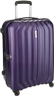 Aristocrat Aston Polycarbonate 67 cms Purple Hard Sided Suitcase (ASTON67TMDP)