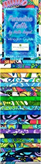 Wilmington Prints Hello Angel Paradise Falls Crystals 24 Fabric Strips 2.5 by 44 inches