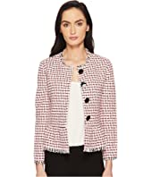 Kate Spade New York - Checking In Tweed Jacket