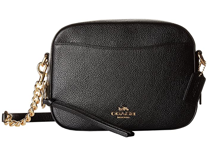 fe718ebe441 COACH Camera Bag in Polished Pebble Leather at Zappos.com