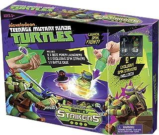 Tortugas Ninja - Spin Striker Battle Pack, playset de acción (Mondo Toys 25196)
