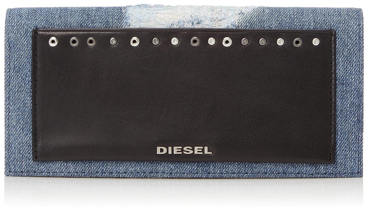 ソート社会科大洪水(ディーゼル) DIESEL メンズ 長財布 AMUSEDENIM 24 A DAY - wallet X05340PS315