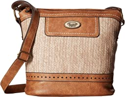 Callahan Straw Crossbody