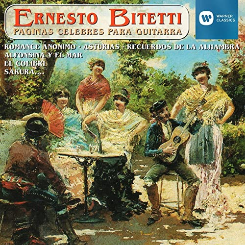 Romance anónimo (arr. for Guitar) de Ernesto Bitetti en Amazon ...