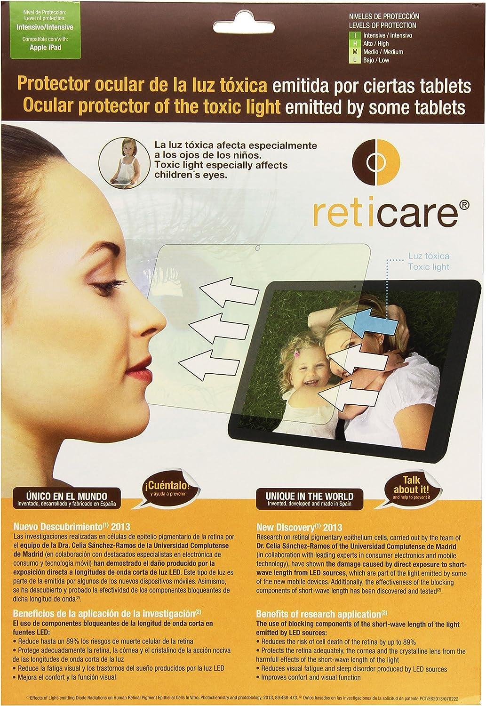 Reticare 352T-9690-B - Protector de ojos compatible con Apple iPad, 2, 3, 4, intensive