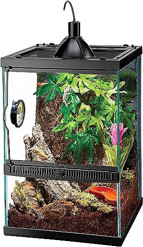 popular Zilla Tropical Reptile sale Vertical Starter Kit with popular Mini Halogen Lighting (ECOM) online sale