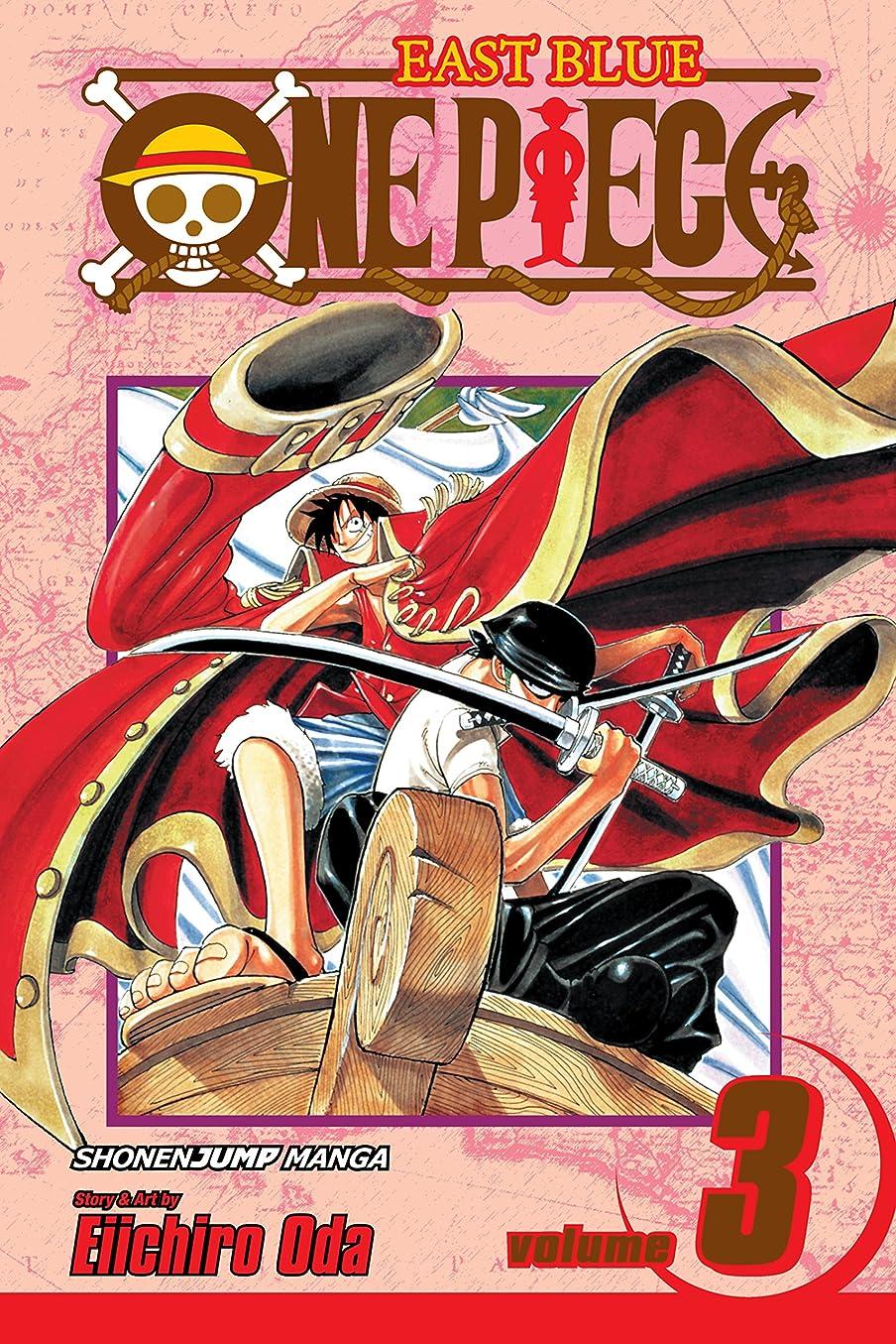 弾性オピエートワームOne Piece, Vol. 3: Don't Get Fooled Again (One Piece Graphic Novel) (English Edition)