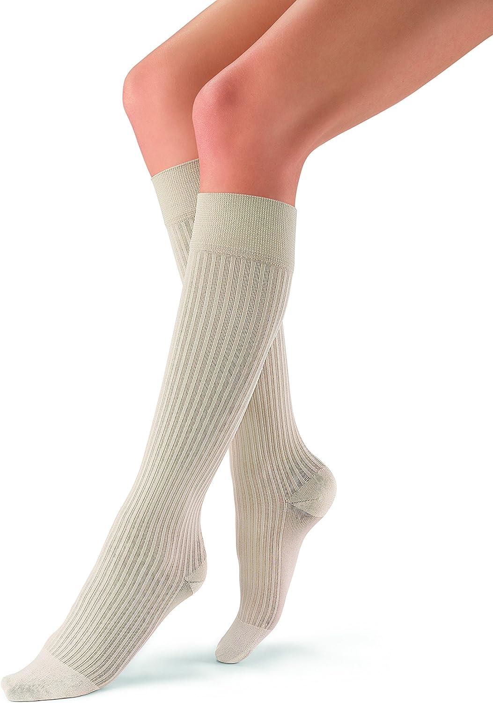 Industry No. 1 JOBST 5 popular soSoft Knee High Compression Socks 20-30 Ribbed S mmHg