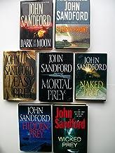Dark of the Moon; Storm Front; Easy Prey; Mortal Prey; Naked Prey; Hidden Prey; Wicked Prey (7 Set)