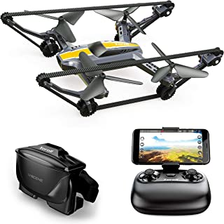 Xerall X-TANKCOPTER Hybride Quadcopter-Tank Drone, HD-cam, VR-bril, 2,4 GHz