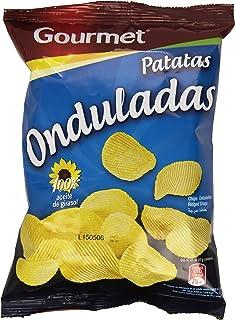 Gourmet - Patatas Onduladas - Aceite de girasol - 40 g