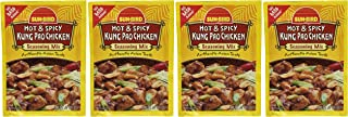 Sun-Bird HOT & SPICY KUNG PAO CHICKEN Asian Seasoning Mix, .87oz (4-pack)