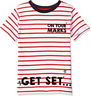 Mothercare Baby Boys' Striped Regular Fit T-Shirt