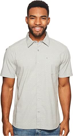 Jones Dot Short Sleeve Woven