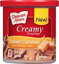 Duncan Hines Creamy Frosting, Salted Caramel, 16 Ounce