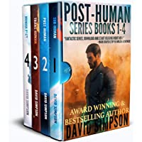 Post-Human Omnibus: The Battle for Human Survival in the Age of Artificial Intelligence Kindle Edition by David Simpson for Free