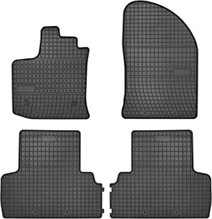 Oppl 3d premium tpe alfombrillas de goma alfombrillas coche para VW Touran II 5t 2015