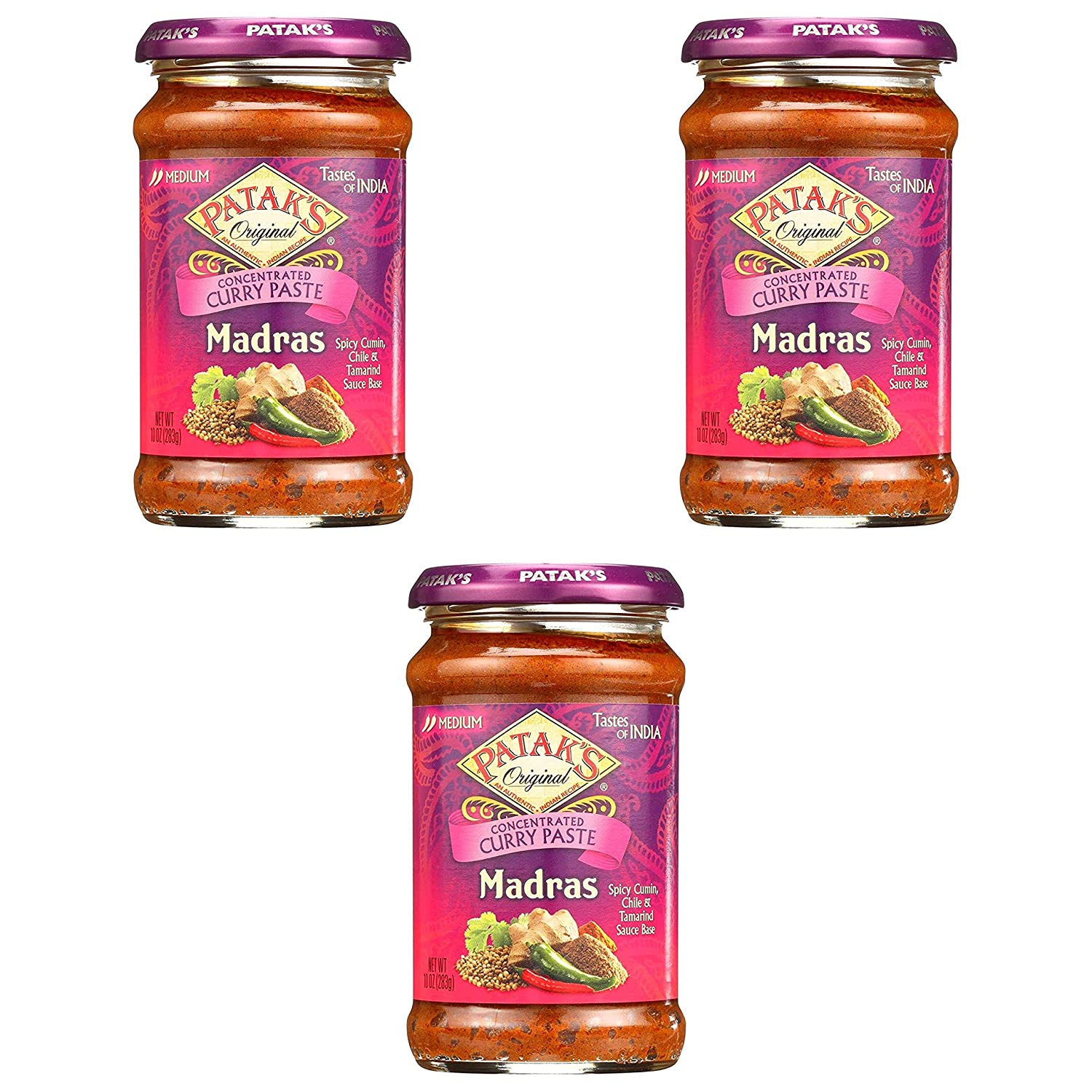 Patak's Madras Curry Paste Cooking Sauce of Case Ounces 6 10 OFFicial Max 45% OFF