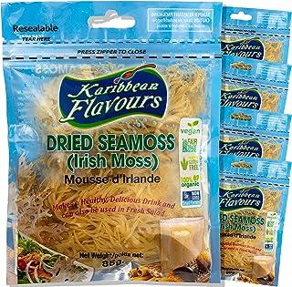 Premium Irish Sea Moss Superfood (425 Gram) | Non GMO | Vegan | Raw (5 x 85g) | Hand Picked Straight from The Sea, Sun Dried and Sealed | Makes Perfect Gel
