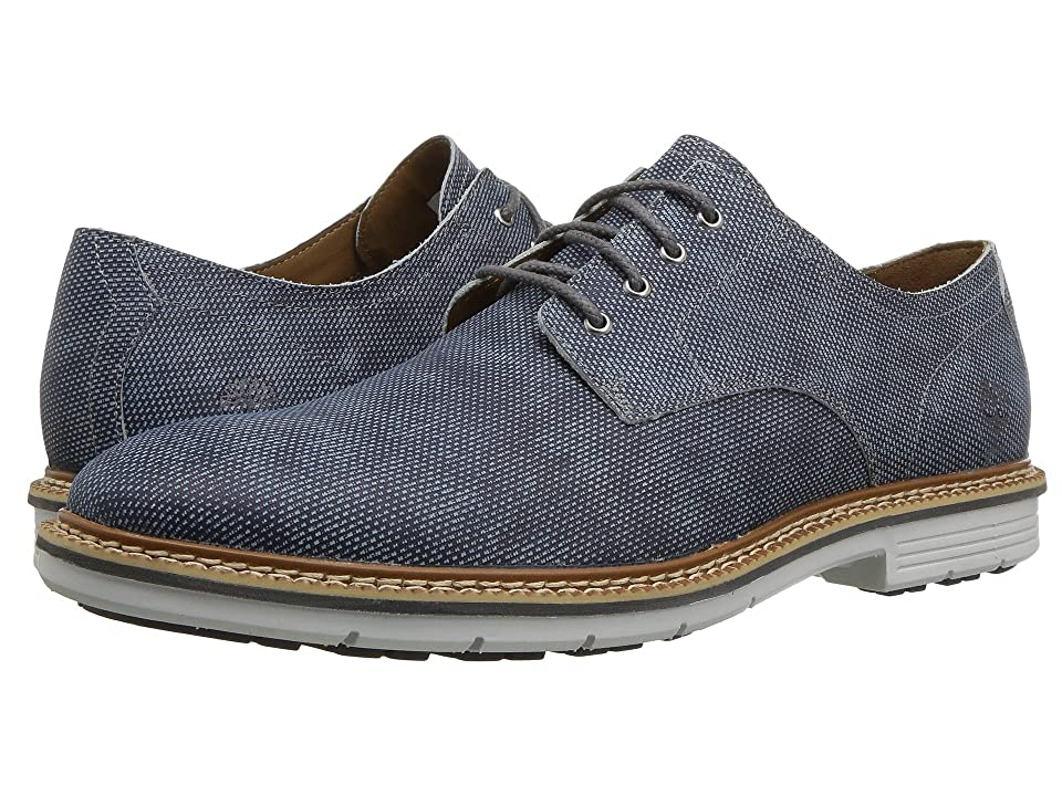 Timberland Naples Trail Oxford (Dark Blue Printed Nubuck) Men