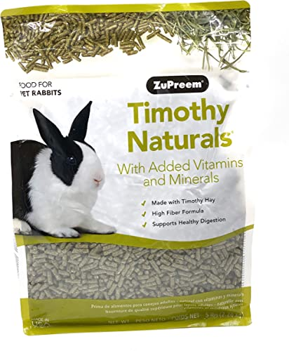 ZuPreem NATURE'S PROMISE® TIMOTHY NATURALSTM RABBIT FOOD