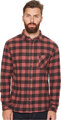Quiksilver - Motherfly Flannel Long Sleeve Shirt