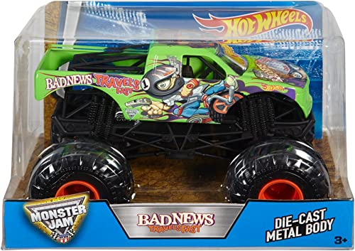 Hot Wheels Monster Jam Bad News Travels Fast Truck