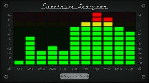 『Spectrum Analyzer - Audio』の3枚目の画像